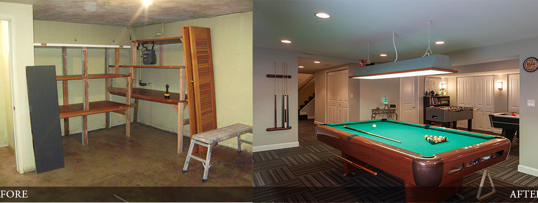 Before & After | Game Room