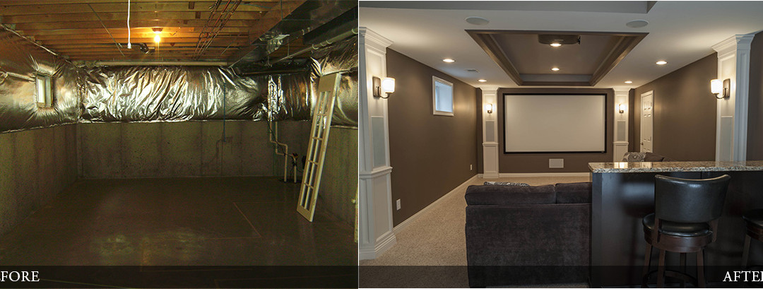 Before & After | Home Theater