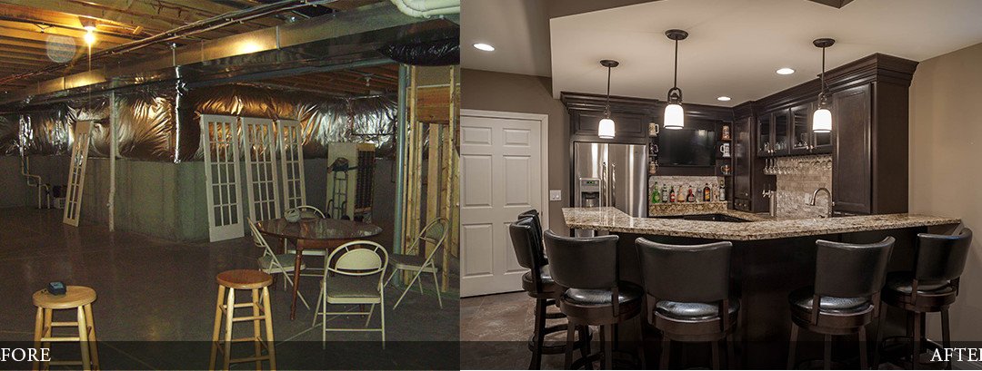 Before & After | Wet Bar